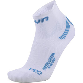 UYN Run Superleggera Socks Dame white/turquoise